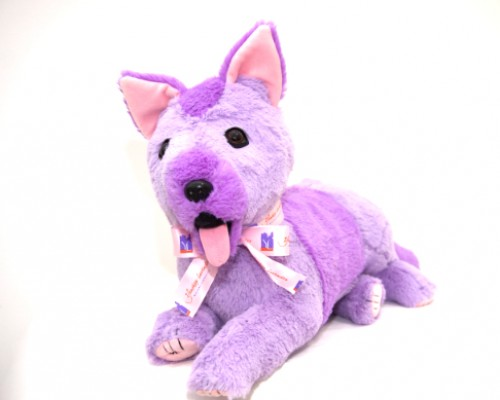LAVENDER PATCH PUPPY DOG - GIRL image