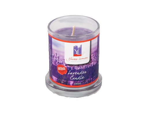 LAVENDER SOY CANDLE image