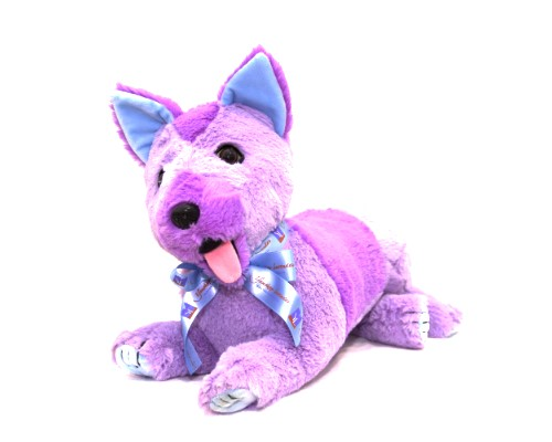 LAVENDER PATCH PUPPY DOG - BOY image